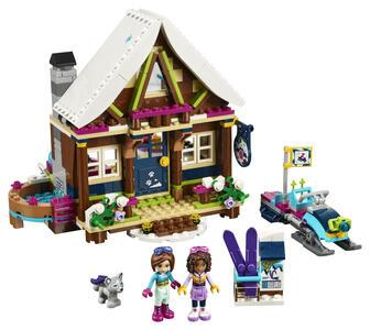 LEGO Friends (41323). Lo chalet del villaggio invernale - 9