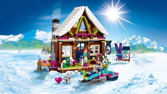 LEGO Friends (41323). Lo chalet del villaggio invernale - 10