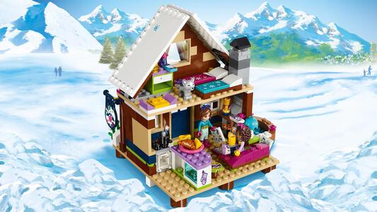 LEGO Friends (41323). Lo chalet del villaggio invernale - 11