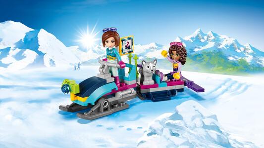 LEGO Friends (41323). Lo chalet del villaggio invernale - 12