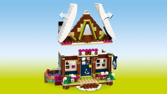 LEGO Friends (41323). Lo chalet del villaggio invernale - 14