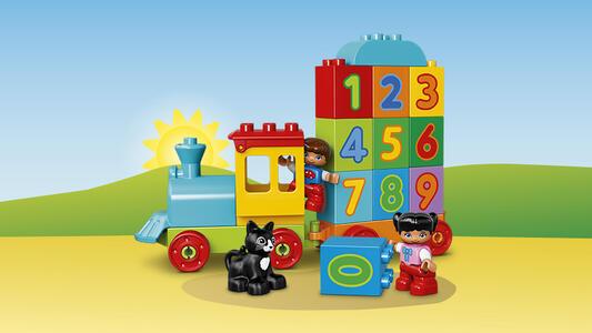 LEGO Duplo My First (10847). Il treno dei numeri - 8