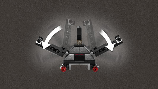 LEGO Star Wars (75163). Microfighter Krennic's Imperial Shuttle - 3