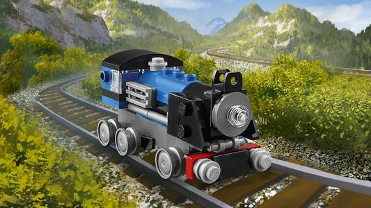LEGO Creator (31054). Locomotiva Blu - 6