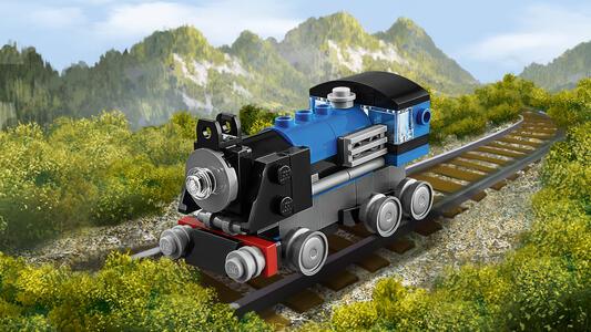 LEGO Creator (31054). Locomotiva Blu - 9