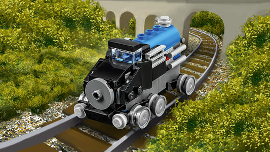 LEGO Creator (31054). Locomotiva Blu - 10
