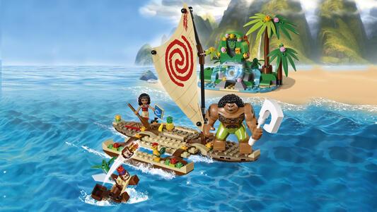 LEGO Disney Princess (41150). Il viaggio sull'oceano di Vaiana - 9