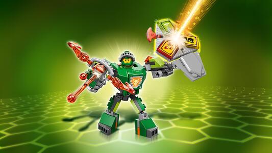 LEGO Nexo Knights (70364). Aaron da battaglia - 4