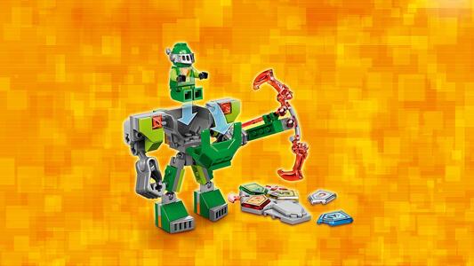 LEGO Nexo Knights (70364). Aaron da battaglia - 6