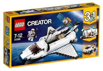 LEGO Creator (31066). Esploratore spaziale - 3