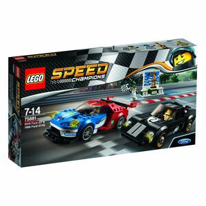 LEGO Speed Champions (75881). Ford GT 2016 e Ford GT40 1966 - 2