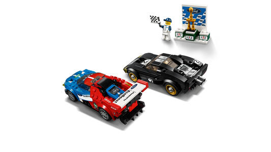 LEGO Speed Champions (75881). Ford GT 2016 e Ford GT40 1966 - 5