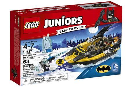 LEGO Juniors (10737). Batman contro Mr. Freeze