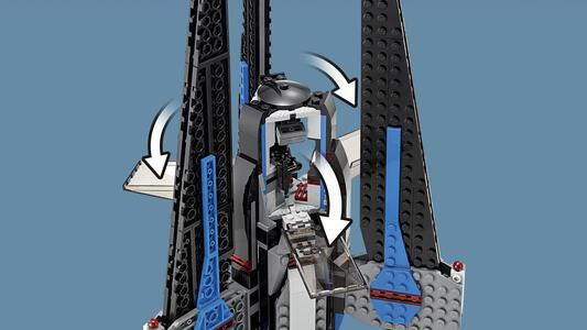 LEGO Star Wars (75185). Tracker I - 14