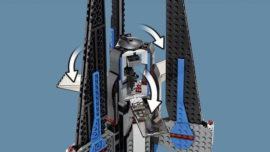 LEGO Star Wars (75185). Tracker I - 9