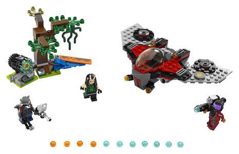 LEGO Super Heroes (76079). L'attacco del Ravager - 27