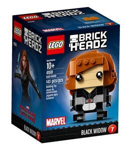 LEGO Brickheadz (41591). Vedova Nera