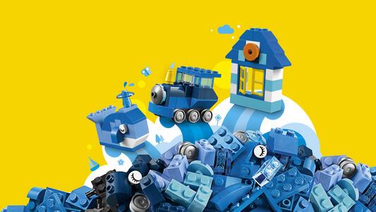 LEGO Classic (10706). Scatola della Creatività Blu - 4