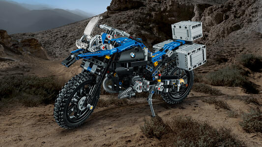 LEGO Technic (42063). BMW R 1200 GS Adventure - 8