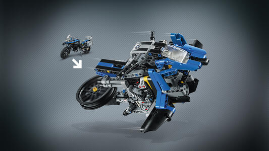 LEGO Technic (42063). BMW R 1200 GS Adventure - 10