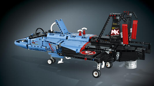 LEGO Technic (42066). Jet da gara - 11