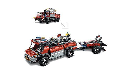 LEGO Technic (42068). Veicolo di Soccorso Aeroportuale - 17