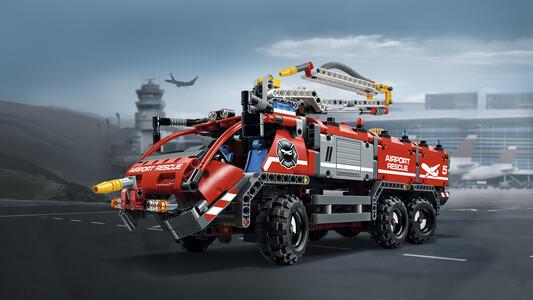LEGO Technic (42068). Veicolo di Soccorso Aeroportuale - 8