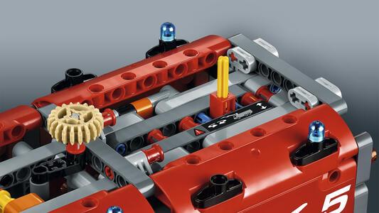 LEGO Technic (42068). Veicolo di Soccorso Aeroportuale - 12