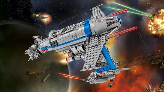 LEGO Star Wars (75188). Bombardiere della Resistenza - 9