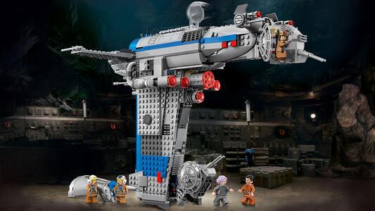 LEGO Star Wars (75188). Bombardiere della Resistenza - 10