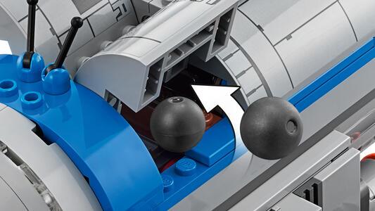 LEGO Star Wars (75188). Bombardiere della Resistenza - 11