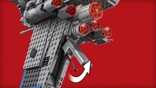LEGO Star Wars (75188). Bombardiere della Resistenza - 14