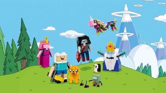 LEGO Ideas (21308). Adventure Time - 3