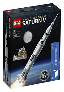 LEGO Ideas (21309). Saturn V Apollo LEGO NASA - 2