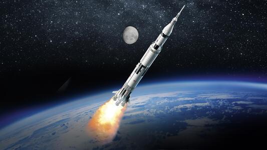 LEGO Ideas (21309). Saturn V Apollo LEGO NASA - 3