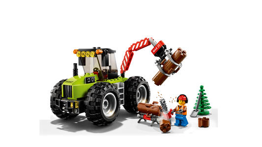 LEGO City Great Vehicles (60181). Trattore forestale - 2
