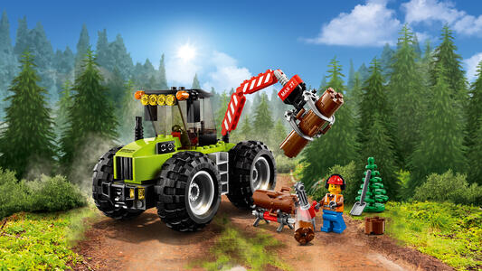 LEGO City Great Vehicles (60181). Trattore forestale - 4