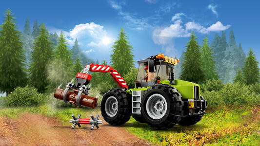 LEGO City Great Vehicles (60181). Trattore forestale - 6