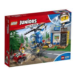 LEGO Juniors (10751). Inseguimento della polizia di montagna