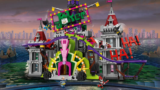 LEGO Batman Movie (70922). Il maniero di Joker - 4