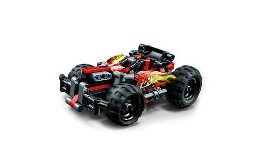 LEGO Technic (42073). CRAAASH! - 2