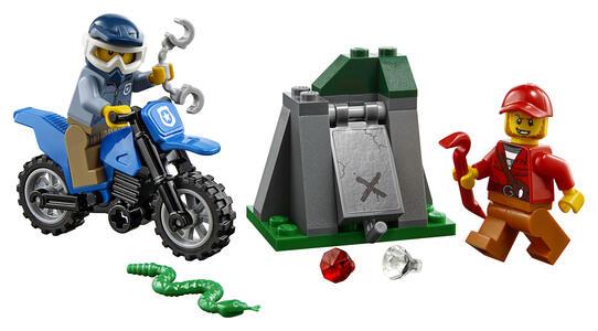 LEGO City Police (60170). Inseguimento fuori strada - 2
