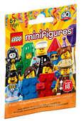 Giocattolo LEGO Minifigures (71021). Collezione 18. Lego 40 Anni Lego