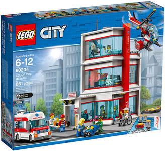 LEGO City (60204). Ospedale di LEGO City