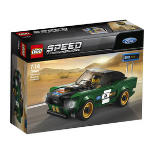 LEGO Speed Champions (75884). 1968 Ford Mustang Fastback