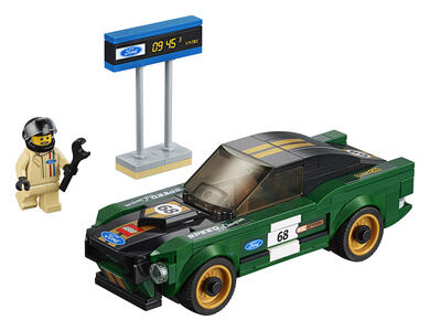 LEGO Speed Champions (75884). 1968 Ford Mustang Fastback - 2