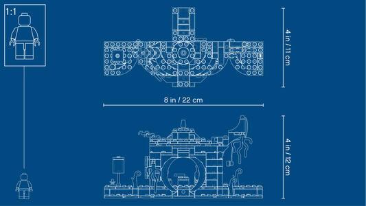 LEGO Star Wars (75208). Il rifugio di Yoda - 2