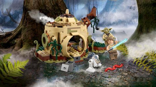 LEGO Star Wars (75208). Il rifugio di Yoda - 4
