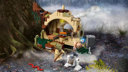 LEGO Star Wars (75208). Il rifugio di Yoda - 5