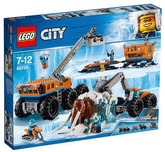 LEGO City Arctic Expedition (60195). Base mobile di esplorazione artica